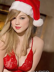 Enjoy Alaina's mesmerizing performance in this Christmas themed HD scene!